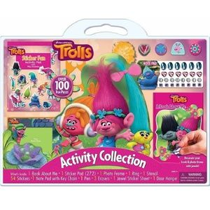 Trolls Activity Collection Over 100 Fun Pieces
